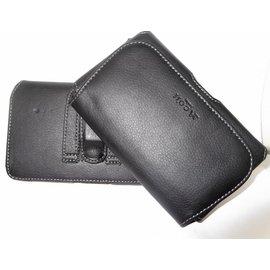 小米 3/TWM Amazing A6/Samsung Galaxy S5  消磁雙背夾橫式腰掛皮套