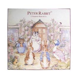 ~玫瑰物語~木製掛畫古典藝術品彼得兔媽媽壁飾世界壁飾Peter Rabbit兒童書房