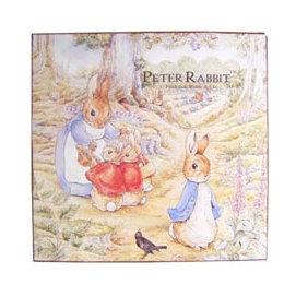 ~玫瑰物語~飾世界壁飾木製掛畫古典藝術品彼得兔媽媽壁Peter Rabbit兒童書房