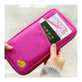 ~採購世界~超大容量旅行隨身包 多 旅行萬用包 收納護照包 多用手拿包 收納包 旅行用護照