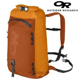 【美國 Outdoor Research 】OR36613 Dry Peak Bagger 輕量防雨攻頂包 / 防水.質輕.登山露營.輕旅行.壯旅/橘 OR36613