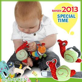 【HH婦幼館】原單可愛立體蝸牛寶寶手腕鈴/響鈴手錶帶/益智玩具