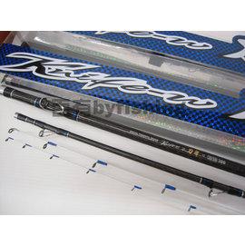 ◎百有釣具◎台灣製造 寸真釣具 刀擊 小斑竿 雙尾 規格30/50-270~送卡夢線