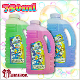 【Q禮品】A1546 750ml泡泡水補充罐 /補充液泡泡槍泡泡機高品質泡泡水適用於泡泡槍泡泡揮舞棒泡泡機Q
