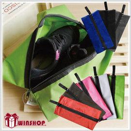 【winshop】A1550 長型鞋子收納袋/鞋子收納包 鞋袋 旅行鞋袋 沙灘收納袋