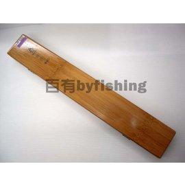 ◎百有釣具◎士貿 蝦彩480 竹製浮標盒 長48公分 寬7.8公分 高3.5公分
