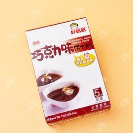 【艾佳】好媽媽巧克力布丁粉75g(奶素)/盒