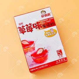 【艾佳】好媽媽草莓果凍粉75g(全素)/盒