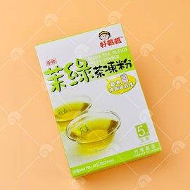 【艾佳】好媽媽茉綠茶凍粉75g(全素)/盒