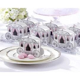 新娘馬車喜糖盒 50入  婚禮小物 包裝盒 ht~0019