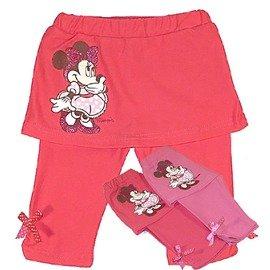 魔法Amigo╭~~^(貨號BS2216^)^~迪士尼 ^~閃亮甜心米妮下擺抓皺蝴蝶結裙褲
