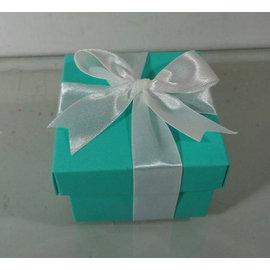 繽紛水藍方形 包裝盒^(20入^) 婚禮用品 結婚用品 婚禮小物 ht~0039