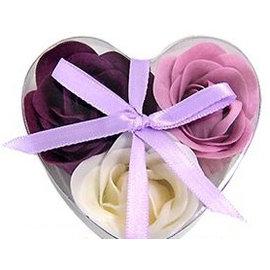 玫瑰精油花緞帶造花^(20入^) 香皂花 結婚用品 抽獎禮 觀賞用 ht~0046