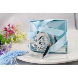 蝴蝶愛心夢幻書籤 10入  婚禮小物 結婚用品 小物 ht~0049