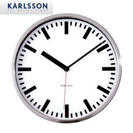 ~歐型~名品館~荷蘭 KARLSSON~ 款^(24cm^) 時鐘 掛鐘 壁鐘