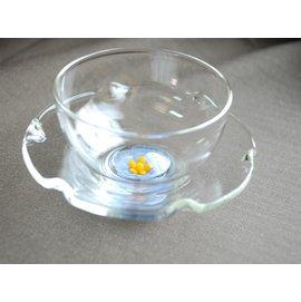 大口花茶杯組 紫黃杯子~巴果果客棧~006~007~035~杯子、咖啡、茶具
