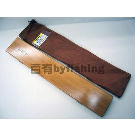 ◎百有釣具◎EVO海力士 金福星 竹製浮標盒 雙面9支 最多可放36支