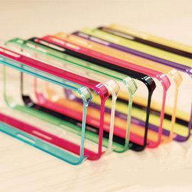 iPhone 4s/4 超薄邊框 蘋果手機套/手機殼/保護套 (多色) [ABO-00114]