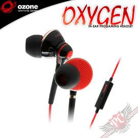 ^~ PC PARTY ^~ OZONE OXYGEN 耳塞式 電競 耳機麥克風 ^(中壢