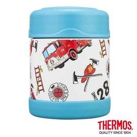 THERMOS 膳魔師 300ml 消防車不鏽鋼真空燜燒食物罐 F3001HRB6 **可刷卡!免運費**