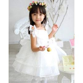 A13 氣質小天使 小禮服 花童服 蓬蓬裙 兒童禮服 結婚花童 鋼琴檢定 85~145CM