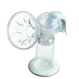 【紫貝殼】『AA12』 貝瑞克手動吸乳器【保固半年】【盒內特別加贈奶水儲存瓶3隻(單隻容量150ML) 】