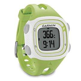 【GARMIN】Forerunner 10 GPS 輕量戶外運動錶(適女性/兒童)/可充電式 含時間.路跑跑步.計圈.虛擬配速.計圈/綠 010-01039-22