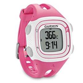 【GARMIN】Forerunner 10 GPS 輕量戶外運動錶(適女性/兒童)/可充電式 含時間.路跑跑步.計圈.虛擬配速.計圈/粉紅 010-01039-23