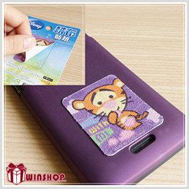 【winshop】A1547迪士尼手機觸控螢幕擦拭貼布/台灣製造 螢幕絨布貼 螢幕擦式貼紙 手機擦式貼