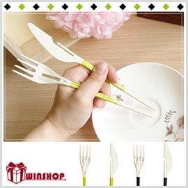 【Q禮品】A1573 刀叉筷組合餐具/環保餐具組 環保衛生餐具 刀子 叉子 筷子
