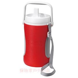 探險家戶外用品㊣CM-0449美國Coleman 1.89L 保冷水壺(紅) 保冰桶 飲料冰筒  聚餐 園遊會 啤酒壺