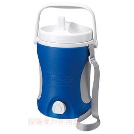 探險家戶外用品㊣CM-0452美國Coleman 4.22L 保冷水壺(藍) 保冰桶 飲料冰筒  聚餐 園遊會 啤酒壺