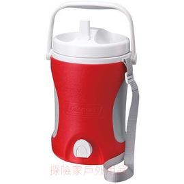 探險家戶外用品㊣CM-0453美國Coleman 4.22L 保冷水壺(紅) 保冰桶 飲料冰筒  聚餐 園遊會 啤酒壺