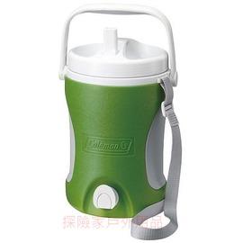 探險家戶外用品㊣CM-0454美國Coleman 4.22L 保冷水壺(綠) 保冰桶 飲料冰筒  聚餐 園遊會 啤酒壺