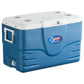 探險家戶外用品㊣CM-1349美國Coleman 49L海軍藍五日鮮冰箱(公司貨)行動冰桶 5日鮮冰筒美國製