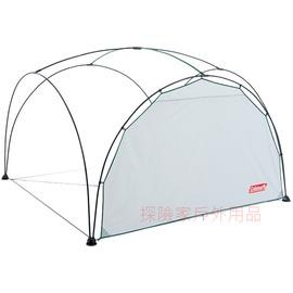 探險家露營帳篷㊣CM-2882美國Coleman 亮灰300派對邊布圍布  適用 派對遮陽帳  炊事帳