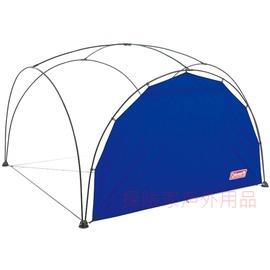 探險家露營帳篷㊣CM-2883美國Coleman 海軍藍300派對邊布圍布  適用 派對遮陽帳  炊事帳