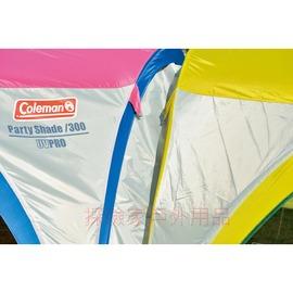 探險家露營帳篷㊣CM-2885美國Coleman 300派對延伸帳 併帳連接布 導水槽 適用300派對遮陽帳