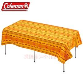 探險家戶外用品㊣CM-9437美國Coleman 桌布 L號 適用折合桌 蛋捲桌 折疊桌 抗污 防水 耐磨