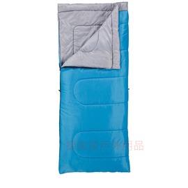 探險家戶外用品㊣CM-S221美國Coleman 表演者睡袋 15度C 藍色 保暖中空棉睡袋人造羽絨登山露營