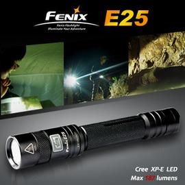探險家戶外用品㊣Fenix 戰術手電筒 型號: E25  (適用AA*2) 登山 露營 必備