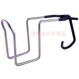 探險家戶外用品㊣GU0603不鏽鋼夾式杯架 杯夾 適用大川椅 休閒椅 導演椅 扶手椅 亦可夾鋁柱