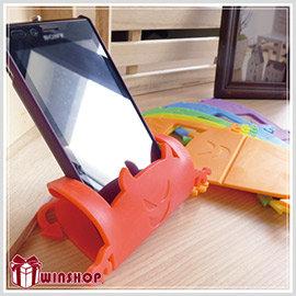 【winshop】A1574 惡魔萬用收納座/智慧型手機 iphone手機座支架遙控器座遊戲搖桿座便條紙座