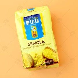 【艾佳】DE CECCO杜蘭小麥粉1kg/包(義大利麵.餃專用麵粉)
