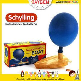 【HH婦幼館】歐美原單木製氣球船-小孩子最喜歡的經典戲水洗澡玩具