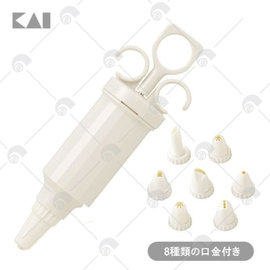 【艾佳】貝印-奶油槍DL-5976/組