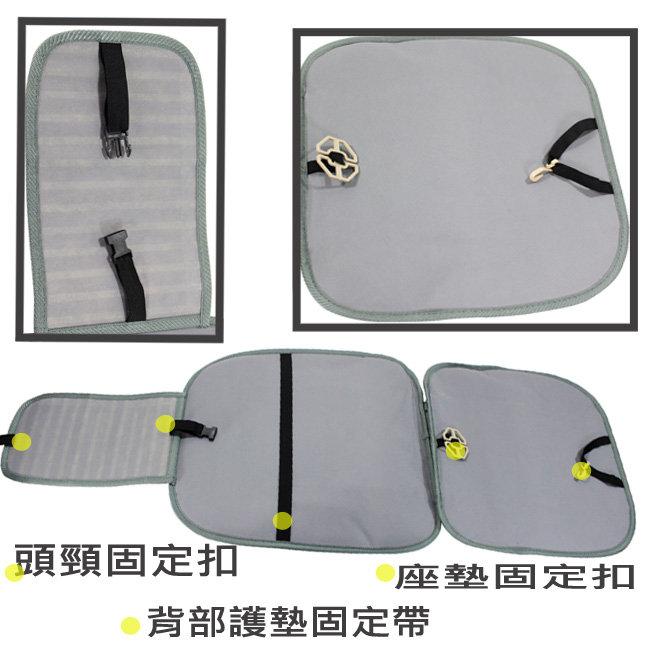 OMAX長竹片靠腰L型座墊 圖示介紹4