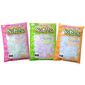 ~米可多寵物 ~寵物甜心水晶砂塊狀水晶貓砂10L抗菌 蘋果 檸檬超強除臭