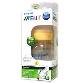 AVENT標準口徑弧型玻璃奶瓶120ml