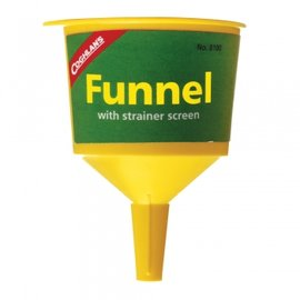 【Coghlans 加拿大】漏斗(內有過瀘網_可過瀘雜質) Filter Funnel.適汽化燈.煤油燈.汽化爐_適 Coleman KOVEA  8100